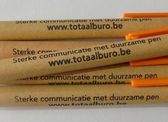 Totaalburo, sterke communicatie met duurzame pen